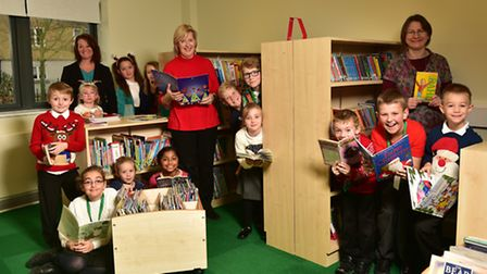 Ravenswood Primary School has opened its new library and has also introduced their rainbow reading s