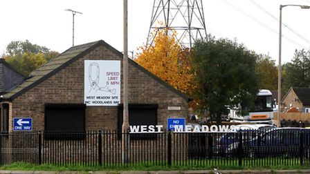 West Meadows travellers' site in Ipswich