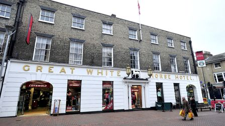The Great White Horse Hotel, Ipswich is already home to Cotswold and Starbucks. Picture: LUCY TAYLOR