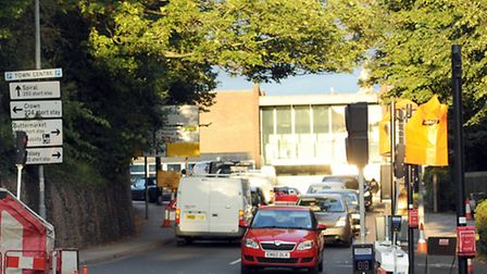 The junction of Handford Road and Portman Road in Ipswich.