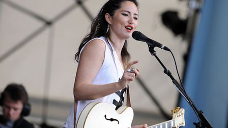 KT Tunstall on the main stage at Latitude