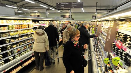 Grand Opening of M&S Simply Food at Martlesham back in 2013