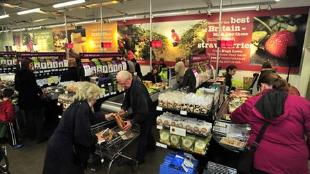 M&S Simply Food at Martlesham is expanding