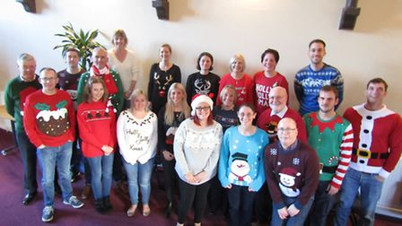 Gotelee Solicitors Christmas fundraising helps Somersham Ward support group