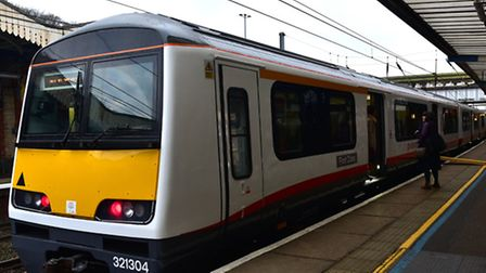 A Greater Anglia train. Picture: SARAH LUCY BROWN