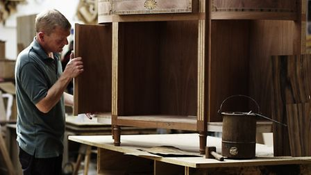 A Titchmarsh & Goodwin furniture maker. The company is looking for someone to join its team in Ipswi