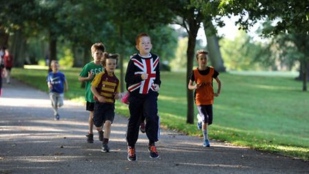 Junior Parkrun takes place in Bury St Edmunds on Sunday (stock photo)