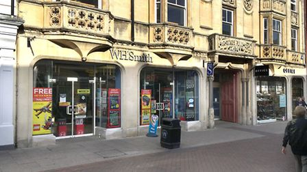 WH Smith in Ipswich, which could get a Post Office