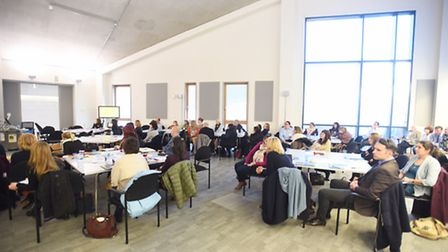 The 2017 Hidden Harms conference at the University of Suffolk. Pic: Gregg Brown.