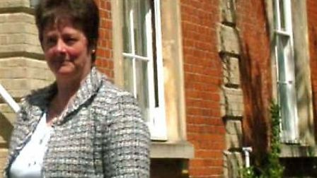 Caryl Heath outside the Burlington Road Surgery in Ipswich. Picture: RICHARD SNASDELL