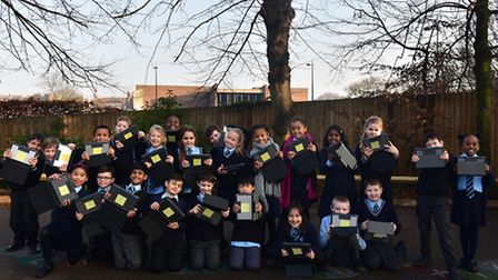 Budding photographers from St Matthew's Primary School in Ipswich spent Monday afternoon with Archan
