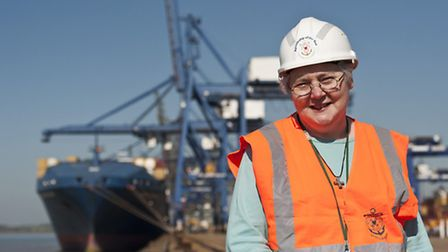 Sister Marian Davey is Apostleship of the Sea's port chaplain in East Anglia