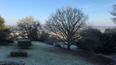 A frosty morning at Abberton. Picture: Jon Robinson