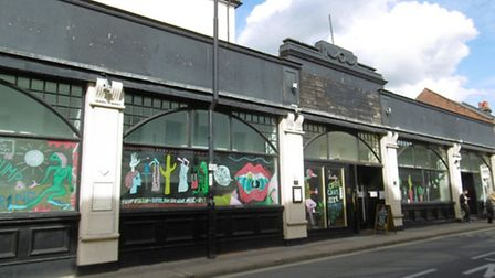 Pump & Grind, at the corner of Northgate Street and Great Colman Street in Ipswich, which closed in