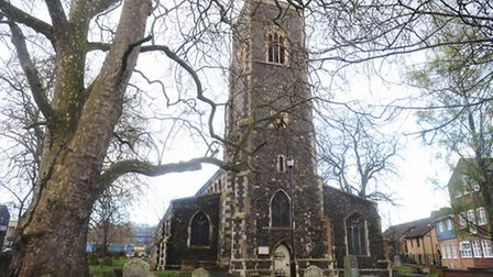St Clement's Church, which is to become Ipswich Arts Centre.