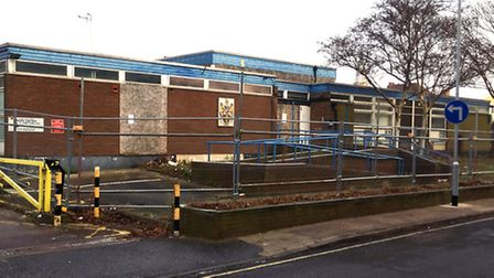 The former county council social club in Rope Walk, Ipswich, which is to be demolished and replaced