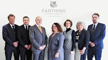 The team at Farthing Funeral Service.