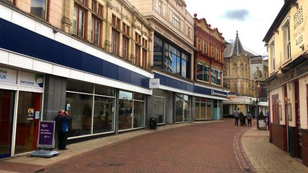 The former Ipswich Co-op Department Store in Carr Street that could become a new primary school for