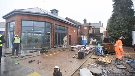 Work at the Rosehill Retail Centre and Derby Road sites, as part of the East of England Co-op's rege