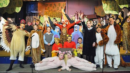 A stage adaptation of Winnie-the-Pooh at Orwell Park School, near Ipswich. Picture: TED BLACKBROW