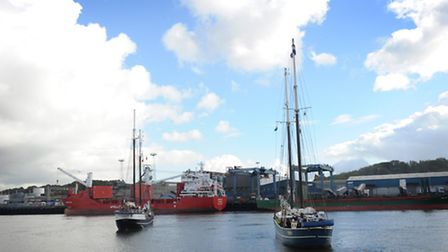 ABP's Ipswich docks. Picture: SARAH LUCY BROWN