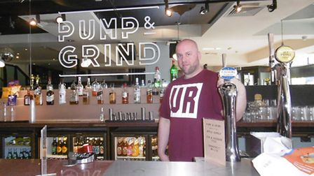 Tom Kerridge at Pump and Grind, who is now working to secure a new space to host live music and even