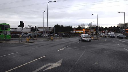 The junction of West End Road with London Road and Handford Road is one of the diversions while the