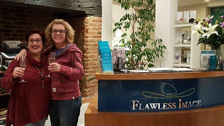 The new owners of Flawless Image in Fore Street, Ipswich. Clair Cooper, left, and Emma Tucker. Pictu