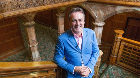Presenter Paul Martin will be at Glemham Hall today. Picture: Anna Gordon