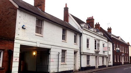 These offices in Lower Brook Street could be converted into eight flats.