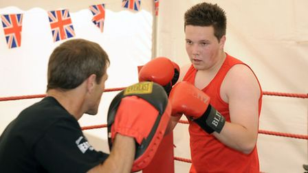 Ipswich Boxing Club has been awarded borough council grant funding. Demonstrations from the club at