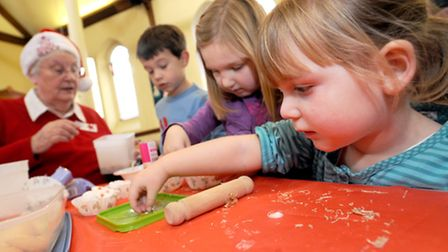Messy Church is a chance to spend quality family time together