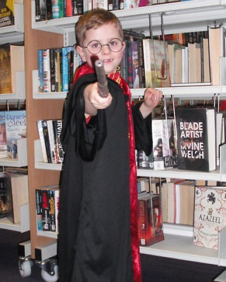 34 children attended the Harry Potter event at Gainsborough community library, Ipswich.
