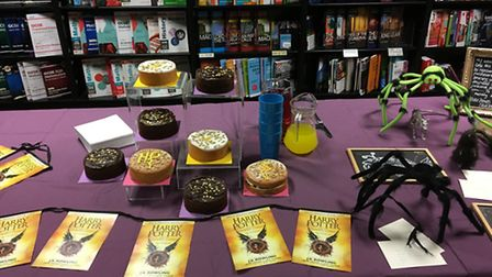 The Harry Potter Night at Ipswich Waterstones