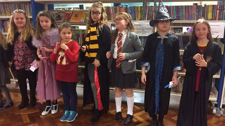 Chantry Library teamed up with Ipswich Children's Book group to organise their events. ICBG provided