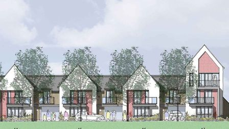 Northern Fringe development - how some of the homes could look