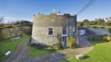 Martello Tower makes for an unusual home in Felixstowe. Picture: Chris Rawlings