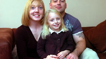 Powerlifting family Neil and Ann Thomas with daughter Morgan in 2006, when Neil and Ann first began