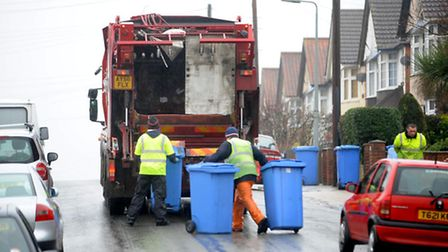 The council tax rise will help pay for services like waste collection.
