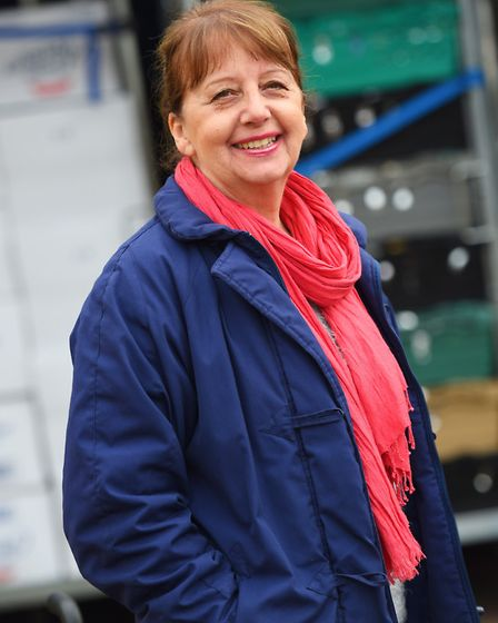 Maureen Reynel, founder of the charity, says the need for food parcels is greater than ever