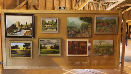 The Lions Club of Ipswich art show in Sproughton in 2016