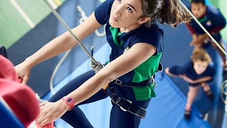 Royal Hospital School in Holbrook can deliver the National Indoor Climbing Award Scheme (NICAS)