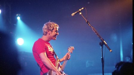 Welsh alternative band, Feeder, played at the Ipswich Corn Exhange on May 24, 1999
