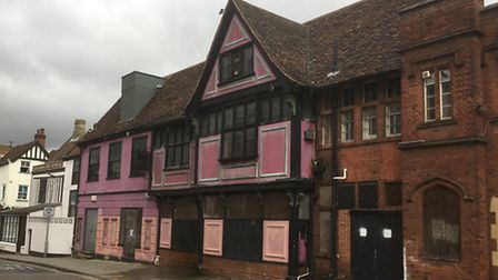 The former Bar Fontaine building could be converted into 12 flats.