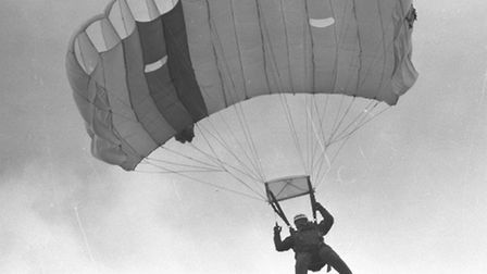 Let us know if you ever took part in one of the parachuting competitions by emailing suffolkpictured