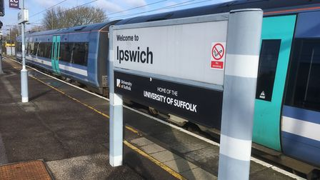 Trains running between Ipswich and Cambridge are being disrupted. File picture: PAUL GEATER