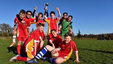 The Cedarwood Primary School EFL Kids Cup team has fended off more than 70 other teams to reach the