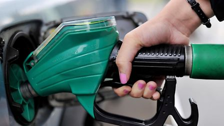 A petrol pump. Picture: NICK ANSELL/PA WIRE