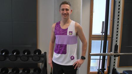James Nial will run the London Marathon on April 23. Picture: University of Suffolk