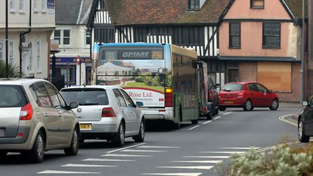 Woodbridge Road will be closed to traffic heading into town for over two months this summer due to m